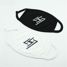Luhan Logo Re-Loaded Mini Solo Album Black White Face Mask #Luhan #Logo #ReLoaded #Mini #Solo #Album #Black #White #Face #Mask #KIDOLSTUFF