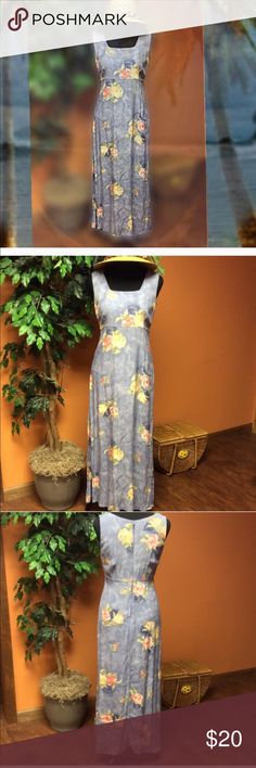 Rabbit Design Floral Maxi Dress Fun floral pastel colored Maxi dress by Rabbit Design. Gently used condition. Great for that beach get-a-way! Dresses Maxi