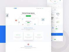 Another Concept for Minimal design lover.  Want similar landing page design for your agency?  Available for Hire:  rtrrayhan@gmail.com Don't forget to view real pixel.