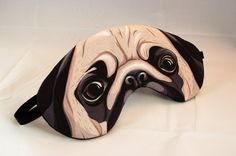 Hey, I found this really awesome Etsy listing at https://www.etsy.com/listing/157782973/pug-sleep-mask