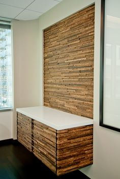 Wooden Wall Panels - Plyboo Durapalm Woven Palms from Intectural