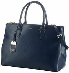 Lauren Ralph Lauren Newbury Leather Double-Zip Satchel on shopstyle.com