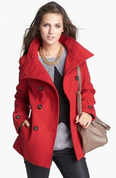 double breasted peacoat - great deal $58
