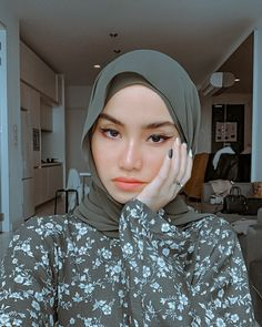 This edit is created by me, please give cr if you repost it! Modest Fashion Hijab, Modern Hijab Fashion, Street Hijab Fashion, Casual Hijab Outfit, Hijab Fashion Inspiration, Hijab Chic, Hijabi Girl, Girl Hijab, Hijab Bride