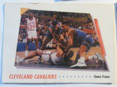 5 Vintage NBA Sports Cards 1992 Cleveland Cavaliers Corbin Robertson Campbell Safely Stored For Over 26 Years This Will be a great Gift for any Fan Shipping will be within 2 days of your payment All Sales are Guaranteed Satisfaction We are. Nba Sports, Basketball Cards, Cavalier, Cleveland, Fans, Baseball, Gift, Vintage