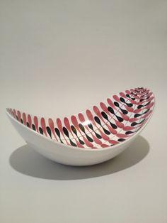 Platter/Bowl by Stig Lindberg, Fajans - Domino Antik