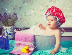 Un buen baño de burbujas es de lo mejorcito para el miércoles.