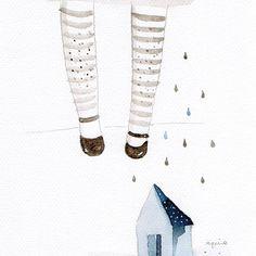 Llueve hermoso 🌬 ____ #decorations #decorate #decor #art #arts_artist #craftposure #deco #painting #artcollective #arts_gallery #art_spotlight #bestartdaily #sketchbook #arts_help #fashion #illustration #fashionillustration #watercolor #minimal #ink #drawing #creativpaper #blvart #branding #artistdrop #art_we_inspire #sketch_daily #artisticmoods #illustrationart #illustrationartists