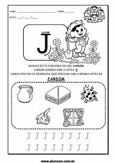 Alphabet, Kindergarten, Notebook, Bullet Journal, Teaching, Education, Gabriel, 1, Junho
