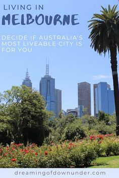 Decide if you should move to Melbourne, Australia with this overview of Melbourne lifestyle, property, attractions and more. #expat #melbourne #australia Real Estate Melbourne, Melbourne Travel, Melbourne Beach, Melbourne Street, Melbourne Victoria, Victoria Australia, Brisbane, Moving To Australia, Visit Australia