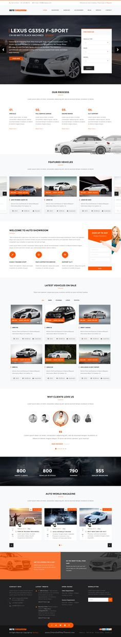 Auto Showroom is clean and modern design 3 in 1 #WordPress Theme for #Car Dealer, Auto #Dealer, #Automotive website. Download Now!