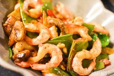 Heta räkor i chili och vitlök - Johanna Toftby - Lilly is Love Food N, Food And Drink, Seafood Recipes, Cooking Recipes, Food For A Crowd, Fish And Seafood, Love Food, Tapas, Betta