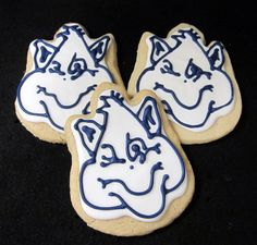#Billiken cookies from Celebrating Life Cakes.
