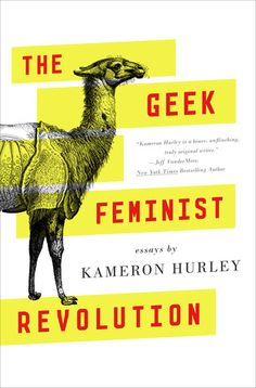 Cover Reveal: The Geek Feminist Revolution by Kameron Hurley  -On sale May 31st 2016 by Tor Books -A powerful collection of essays on feminism, geek culture, and a writer's journey, from one of the most important new voices in genre.  The Geek Feminist Revolution is a collection of essays by double Hugo Award-winning essayist and science fiction and fantasy novelist Kameron Hurley.  The book collects dozens of Hurley's essays on feminism, geek culture, and her experiences and insights as a…