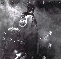 Quadrophenia - the Who (1973) - cover photography and design by Graham Hughes. I nabbed by stepdad's copy of the album and frequently returned to the stunning Ethan A. Russell designed photo book inside.