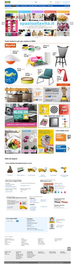 "Ikea Italy Website - ""WebSphere Commerce made"" #webspherecommercemade #ecommerce"