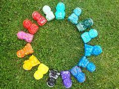 Resultado de imagen para budas bebes de yeso pintados