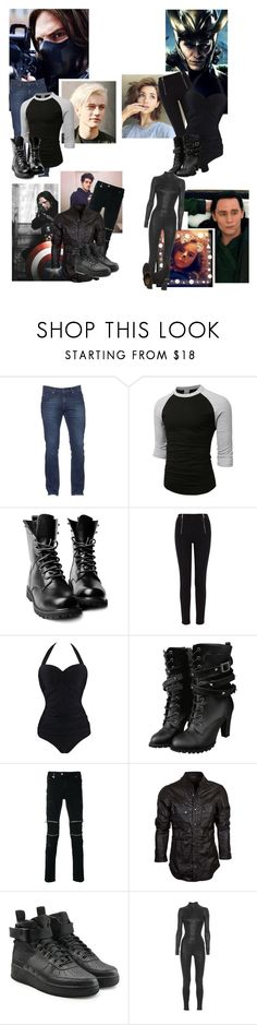 """""""I FELT THIS WAY BEFORE SO INSECURE/:/RP"""" by evil-queen3 ❤ liked on Polyvore featuring Tommy Hilfiger, LE3NO, Karen Millen, Vintage One, Just Cavalli, NIKE and Aphero"""