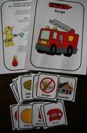 Les pompiers : Affiches et vocabulaire