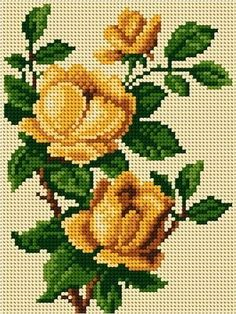 Discover thousands of images about hkr Cross Stitch Rose, Cross Stitch Borders, Cross Stitch Flowers, Counted Cross Stitch Patterns, Cross Stitch Designs, Cross Stitching, Cross Stitch Embroidery, Embroidery Patterns, Hand Embroidery