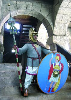 A Third Century AD Roman Beneficiarius.