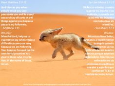 Can you see Jesus' vision for your life?  +  ¿Puedes ver la visión de Jesús para tu vida?  +  http://www.biblegateway.com/passage/?search=Matthew+5%3A7-12