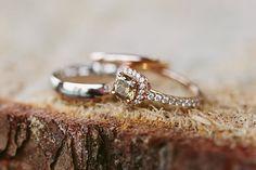 canary engagement ring | Kati Mallory #wedding