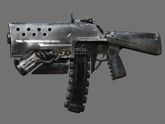 Gun Picture  (3d, sci-fi, gun, weapon)
