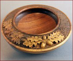 Acorn bowl, 2012 walnut