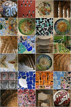 1000 ideas about gaudi mosaic on pinterest gaudi for Barcelona jardin gaudi