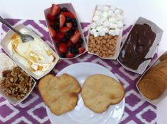 Dessert Pizza Bar- MIx and Match yummy toppings