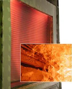 Roll Up Fire Door Fire Smoke Rated Doors Alpine Overhead