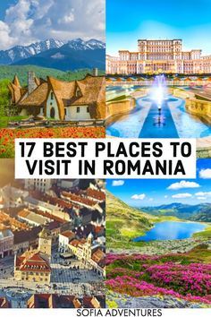Want to travel Romania? We've covered the most beautiful places to visit in Romania, from Bucharest to Transylvania (Brasov, Sibiu, Sighisoara, and beyond) to the Black Sea coast of Constanta and…More Beautiful Places To Visit, Cool Places To Visit, Places To Travel, Europe Travel Tips, Travel Destinations, Budget Travel, Romania Travel, Romania Food, Hungary Travel