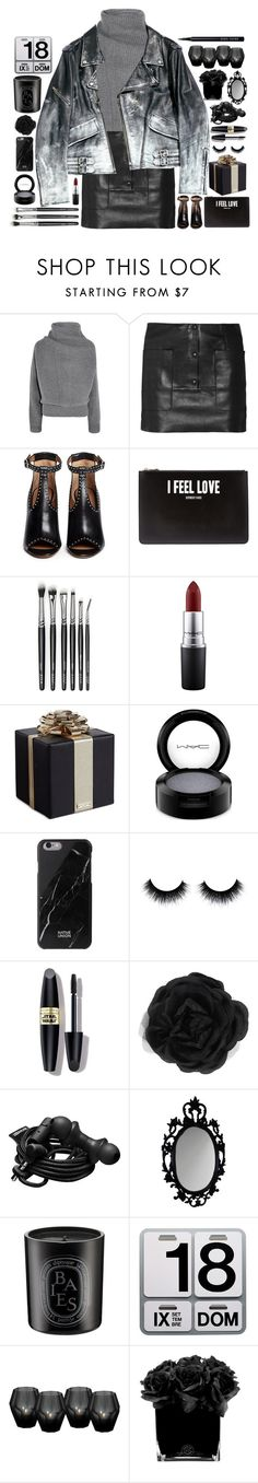 """""""I feel love"""" by doga1 ❤ liked on Polyvore featuring Acne Studios, Givenchy, MAC Cosmetics, Kate Spade, Native Union, Max Factor, Accessorize, Urbanears, Diptyque and Danese"""