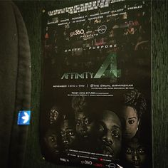 Thanks to @adazzledesign we have a quality poster for #affinity4