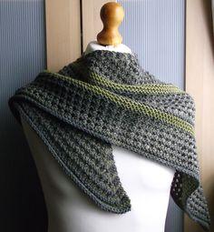 Heart shaped shawl by Brian Smith