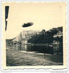 Flying saucer.