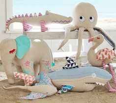 Summer Friends Plush | Pottery Barn Kids