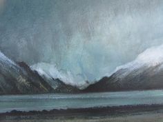 Approaching Winter, Loch Long by Gregor Smith RSW Royal Society, Contemporary Art, Watercolor, Winter, Artist, Painting, Pen And Wash, Winter Time, Watercolor Painting