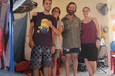 Con Kassandra y Tim, Sihanoukville