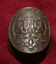 1939 Monzie Castle World Rover Boy Scout Moot Woggle ( badge ) in vgc (see other