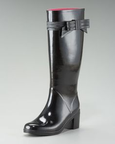 8f853a88eec4 kate spade new york randi beribboned rainboot. Neiman Marcus SaleRain  BootsShoe ...