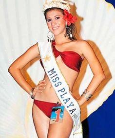Gloria Osorto Señorita FERISUR 2008 y Miss Playa 2010 La Ceiba.