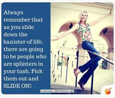 You will more than likely get splinters in a lot more than your tush. Ignore them on move ON !  http://DareToShare.ws