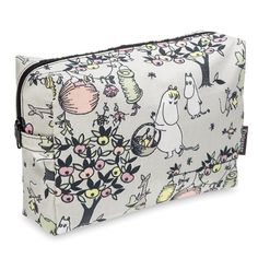 Moomin Jubilee cosmetics bag by Finlayson.