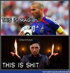 #Zidane .. The real magic ... <3 #zinedineZidane #Zizou #Magical #Magician