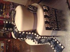 Movie film wedding cake :)