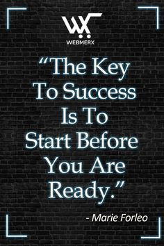 The key to success is indeed to start, small steps taken towards achieving your dream and getting started is what is needed. Making little progress day-by-day will give you success in future. Share this quote with someone you think needs motivation. 😇😌 Need Motivation, Ecommerce Solutions, What Is Need, Get Started, Letter Board, Thinking Of You, Dreaming Of You, Success, Key