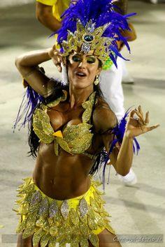 #carnival #dancer #samba unidos da tijuca