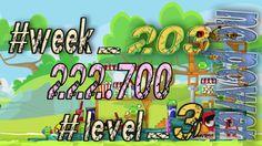 Angry Birds Friends Tournament Week 203  Level 3   no power  HighScore (...